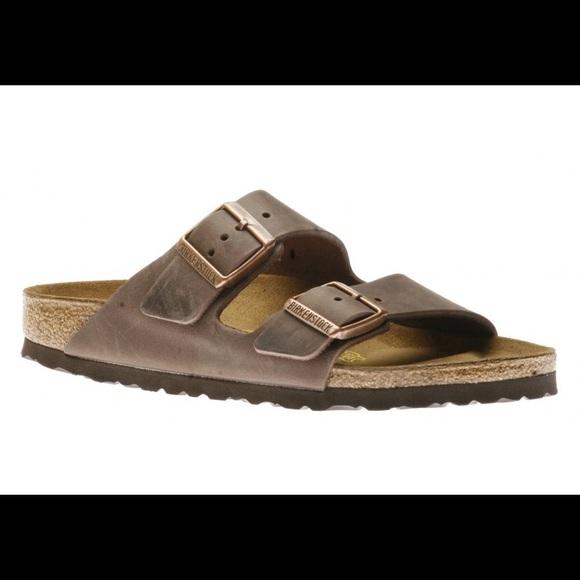 de1a6b406f6 NEW Birkenstock Arizona Sandals Size 46 (Habana)